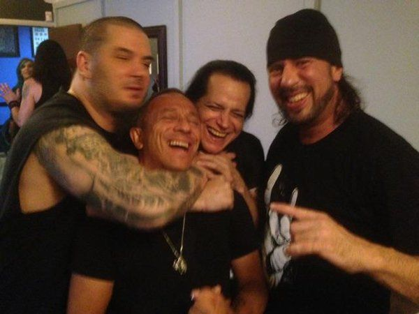 Phil Anselmo, Michael Alago, Glenn Danzig, Sean Waltman