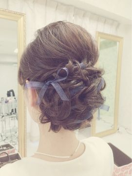 ブライダルサロン フェリーチェ(Bridal Salon Felice)チュールリボンアップ☆