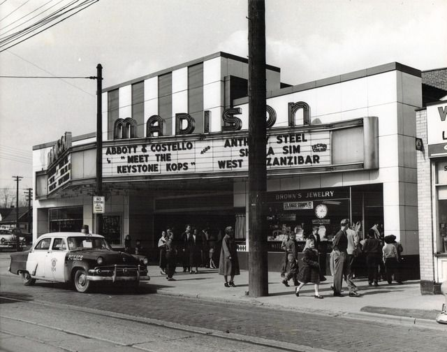 1950s Movie Theaters In Cleveland Ohio Viewing Photo Street View Cleveland Pinterest