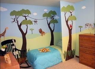 Jungle room for Charlie