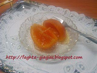 Τα φαγητά της γιαγιάς - Πορτοκάλι γλυκό του κουταλιού