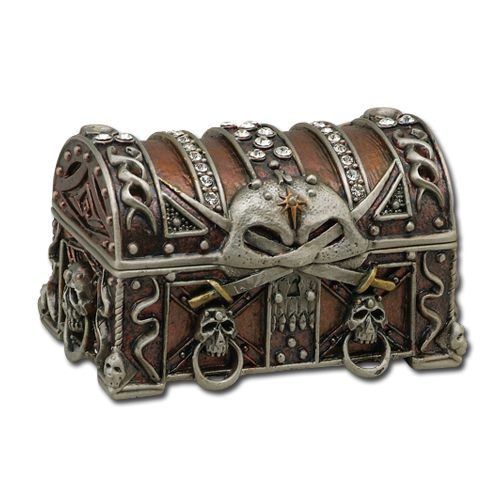 Pirate Treasure Chest  http://theoldgiftshop.com/