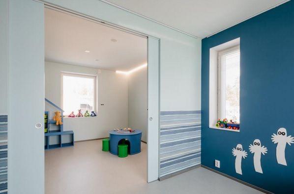 """Kids room. SYNTESIS® LINE redeseneaza spatiul, creand o armonie perfecta intre ambientele casei. """"Pentru a satisface cele mai pretentioase exigente de design interior simplist, dar modern."""""""