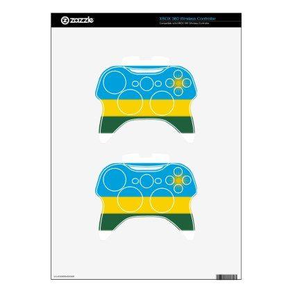 #Low Cost! Rwanda Flag Xbox 360 Controller Skins - #travel #electronics