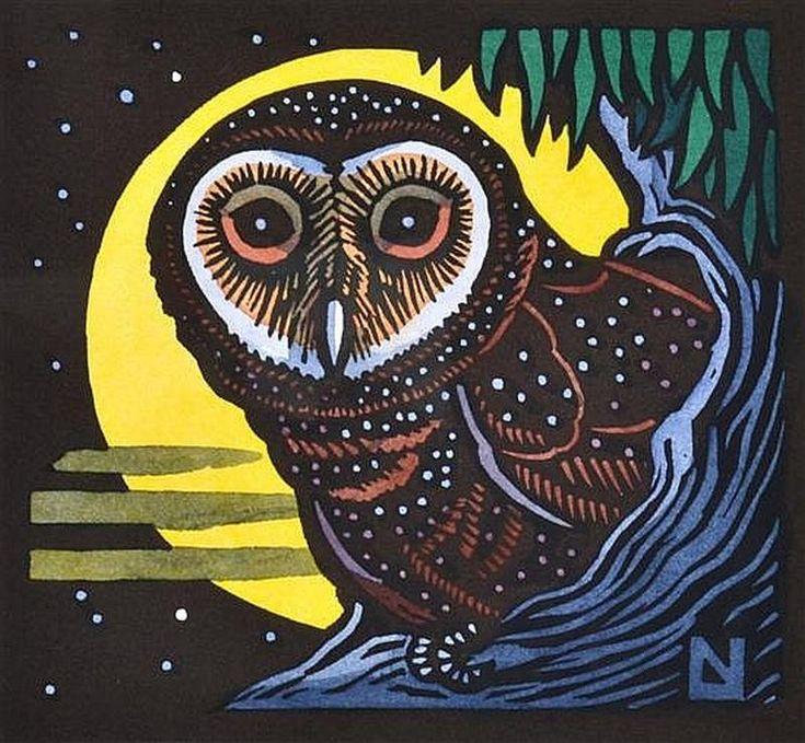Australian Sooty Owl Pinned by www.myowlbarn.com