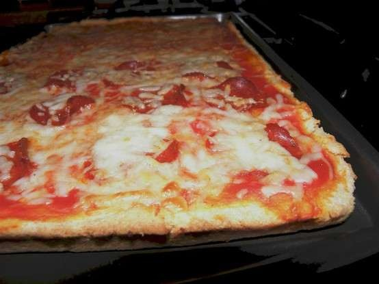 WHOLE WHEAT THIN CRUST PIZZA DOUGH | recipes and such-food | Pinterest