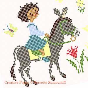 Perrette Samouiloff - Baby Lou (color version) (cross stitch)
