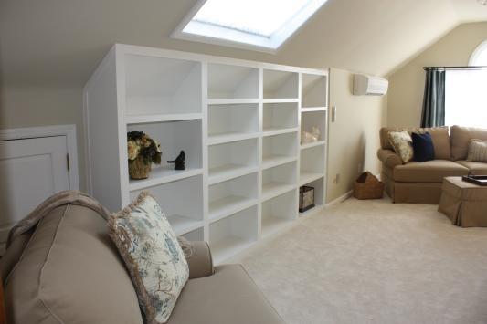 bookshelves for the bedroom