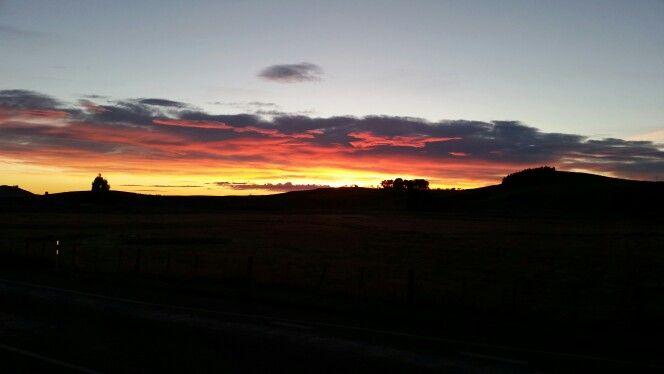 sunrise over Karitane NZ
