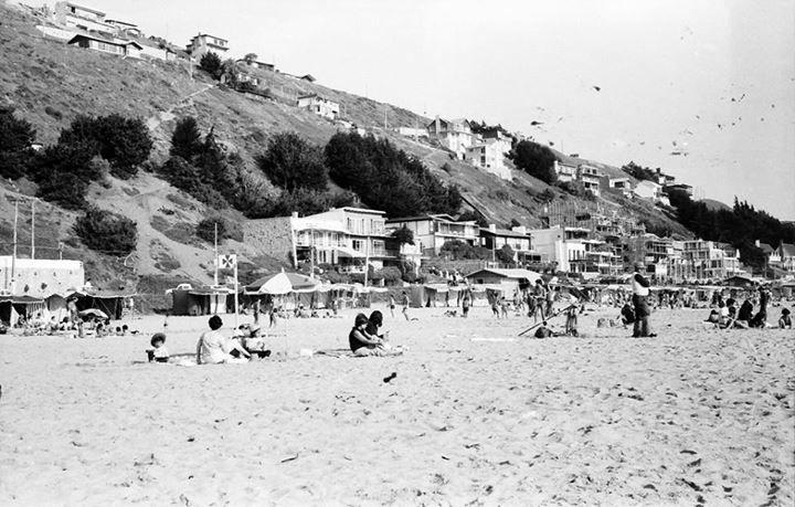 Playa Reñaca, Viña del Mar, 1969