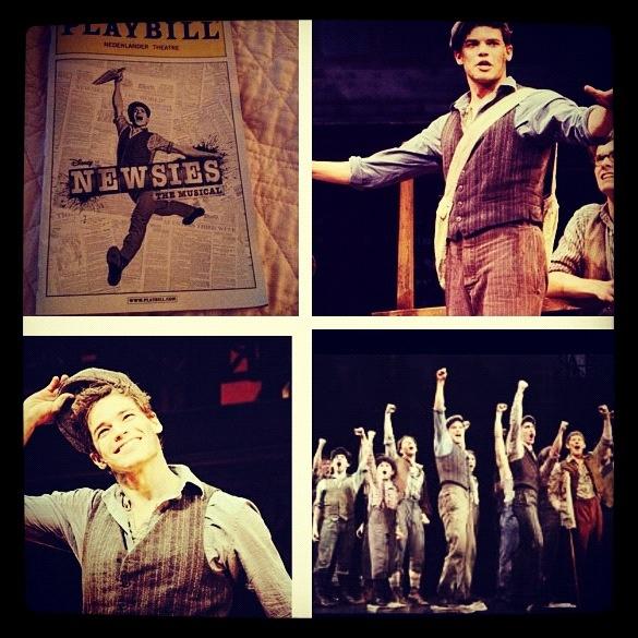 Newsies  Good movie, amazing Broadway show!