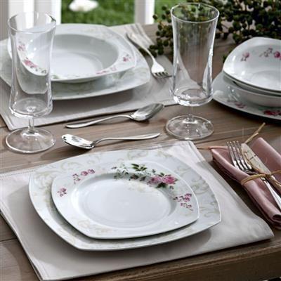 Pierre Cardin 24 Parça Günlük Yemek Takımı Rose Garden | cazip geldi