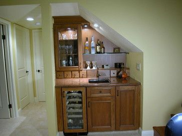 26 Incredible Under The Stairs Utilization Ideas. Bar Under StairsSpace ...
