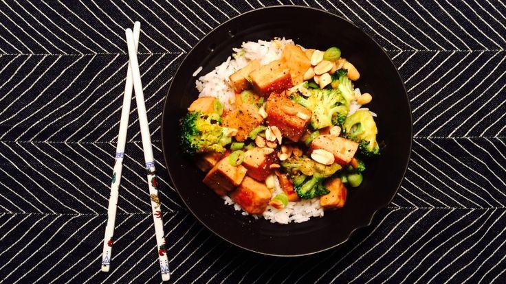 Tofu med ingefær og appelsin - Green Bonanza