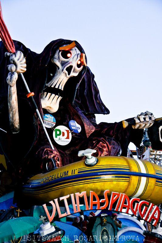 Carnevale di Viareggio, Italia