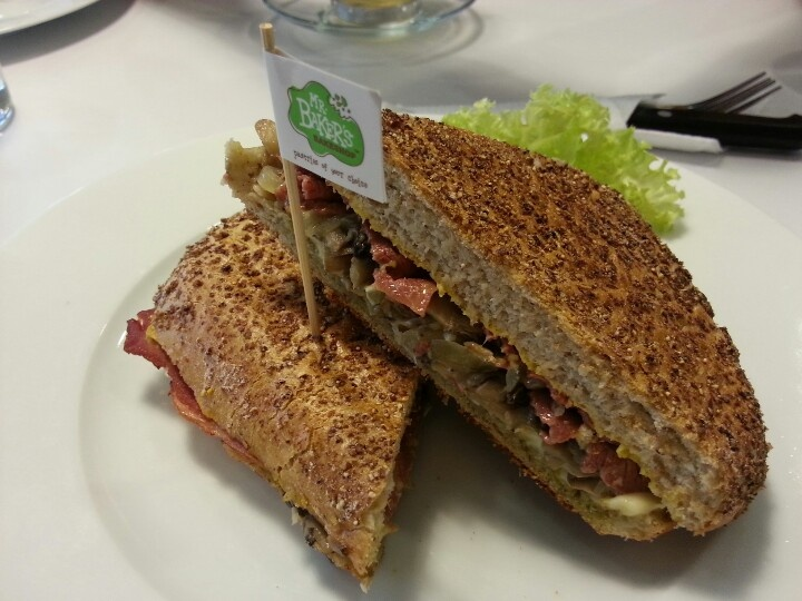 Mr Bakers delicious paninis!