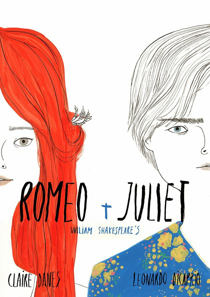 Poster +Romeo+Juliet+ by Coco Escribano