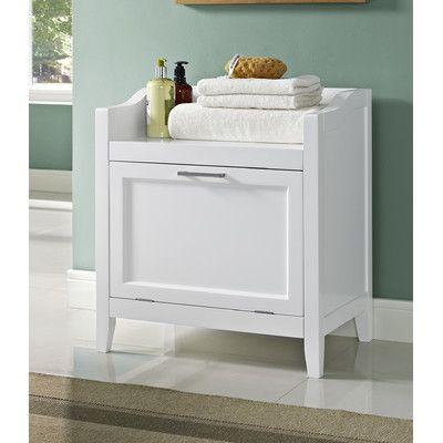 Avington Storage Cabinet Laundry Hamper Home Bench Seat