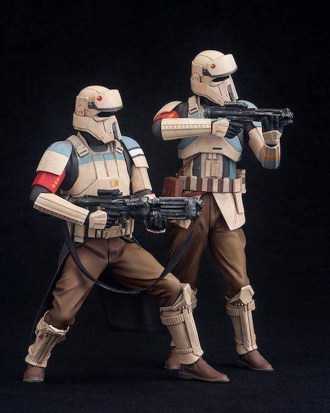 Star Wars Rogue One: Scarif Stormtrooper ARTFX+ Statue by Kotobukiya