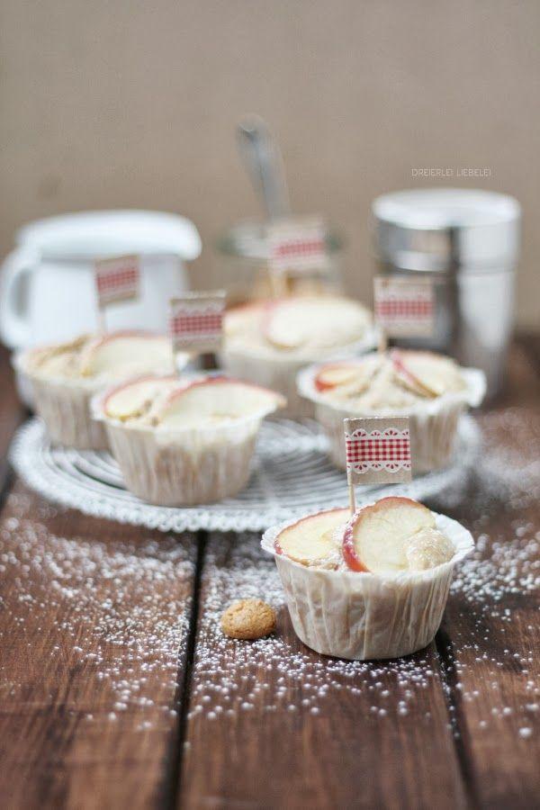 Bratapfeltörtchen (apple mini cakes) von http://dreierlei-liebelei.blogspot.de