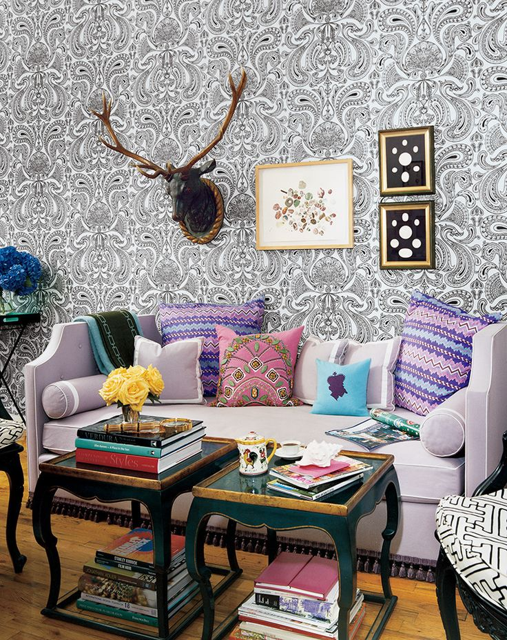 funky living room ideas. a houseful of style in 200 square feet  Living SpacesFunky Best 25 Funky living rooms ideas on Pinterest Eclectic curtains