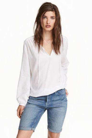 Длинные джинсовые шорты | H&M 1999