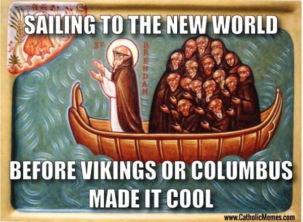 Remarkable, very Christopher columbus comic strip