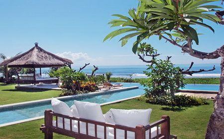 villa smara bai pool view beach 2
