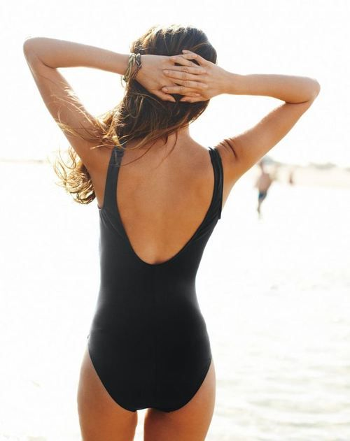 classic one-pieceBlack Bracelets, Hampton Style, Enjoy Life, At The Beach, Black Swimsuits, Bath Suits, One Piece, Swimming Team, Nantucket Style