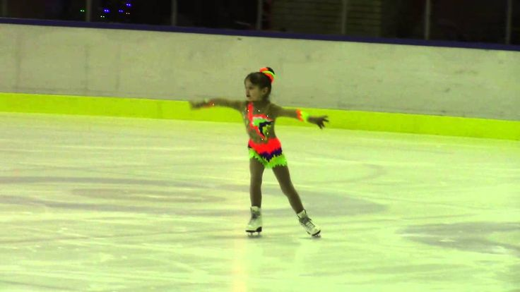 Kaunas Ice Christmas Cup 2015  Pre Chicks A Girls  ПП 3 Anastasiya BLR