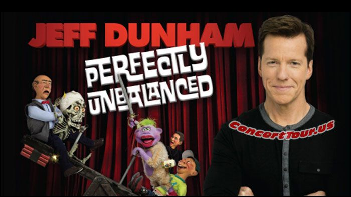 www.ConcertTour.us - JEFF DUNHAM Has A Whole New Act For His Live Shows in 2016. See Him Perform on his 'Perfectly Unbalanced Tour'!