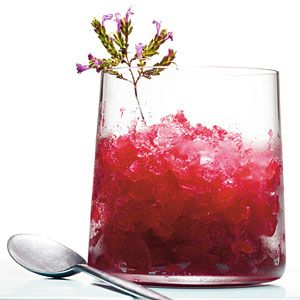 Cranberry-Whiskey Sour Slush // Is it too early in the day for one of these?