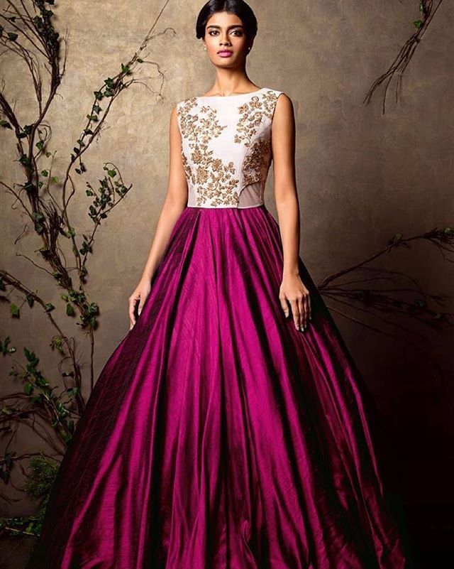 The 25 Best Indian Gowns Ideas On Pinterest