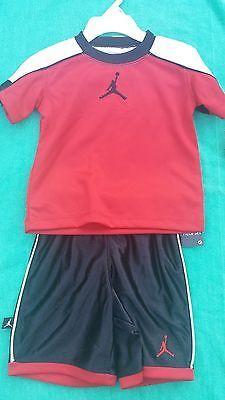 Michael Jordan Baby Clothing: Nike Michael Jordan Boys 2 Pc Outfit 12 Months Nwt BUY IT NOW ONLY: $19.99