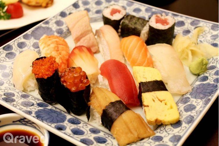 Assorted Premium Sushi Set at Nishimura