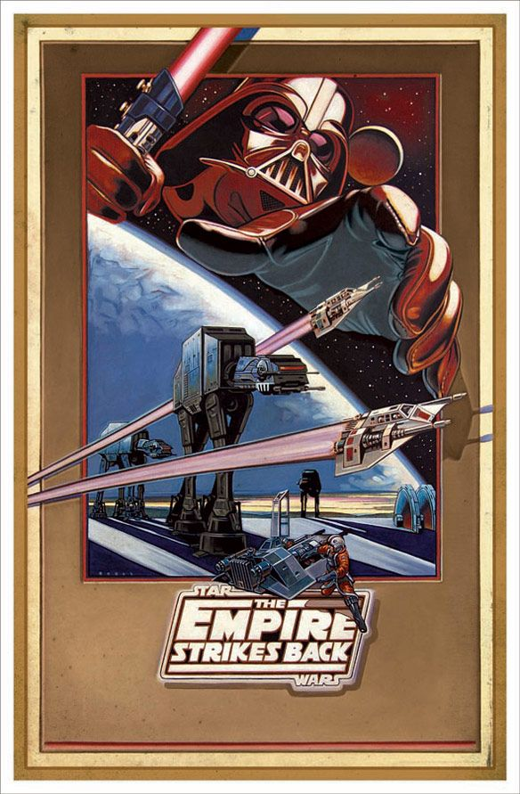 Empire Revisited Deluxe Giclee