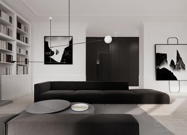 If You Are Crazy About Monochrome Interiors Then This Mammoth Collection Of Black And White Beauties Modern Bedroom DesignModern