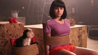 Dora the Explorer Movie Trailer (with Ariel Winter), via YouTube. If you have kids who have watched Dora the explorer... This is funny!