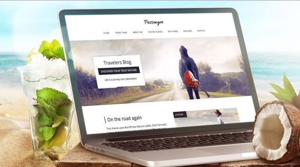 Download Free Passenger v1.4 Travelers WordPress Theme