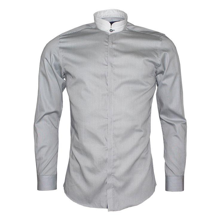 Remus Grandad Collar Shirt