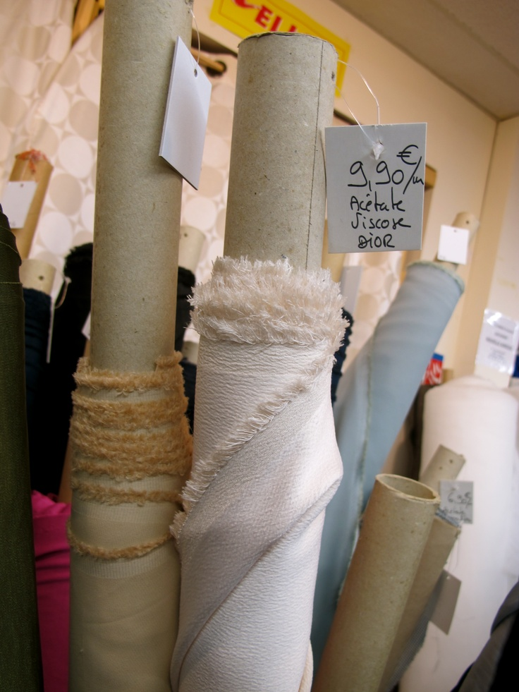 fabric district paris | hope to check out the fabric district in Paris during my final ...
