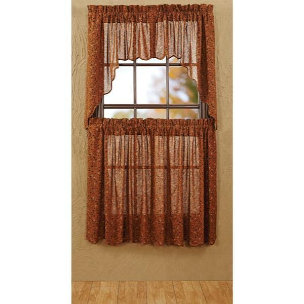 Somerville Swag Tobacco Cloth 72x36x16 - Country Village Shoppe ...