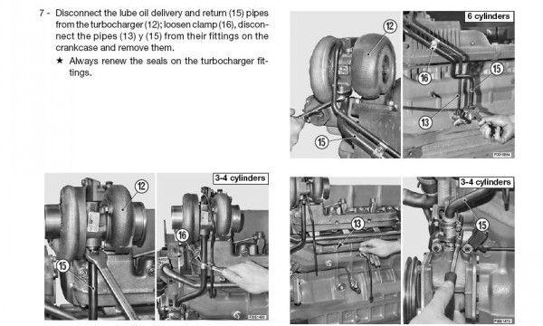 Deutz Fahr Serie 1000 4 Cylinders Euro 2 Engine Service Repair Manual Repair Manuals Transmission Repair Hydraulic Systems