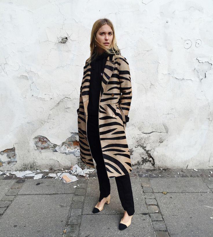By PERNILLE TEISBAEK Coat from DAY Birger et Mikkelsen – FALL 2016 ! http://www.theyouway.com/en/pernille-teisbaek-fashion-directors-choice-en