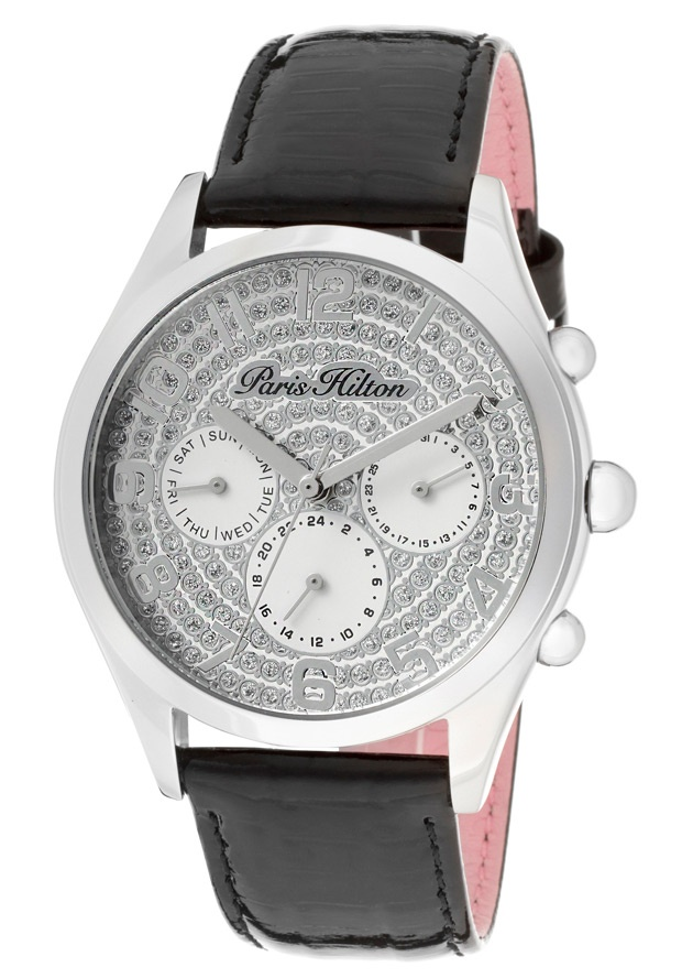 Price:$79.00 #watches Paris Hilton PH13107JS-04A, With designs that embody the effortlessly chic and carefree nature of Paris herself, the Paris Hilton timewear collection offers trend setting designs to suit any occasion.