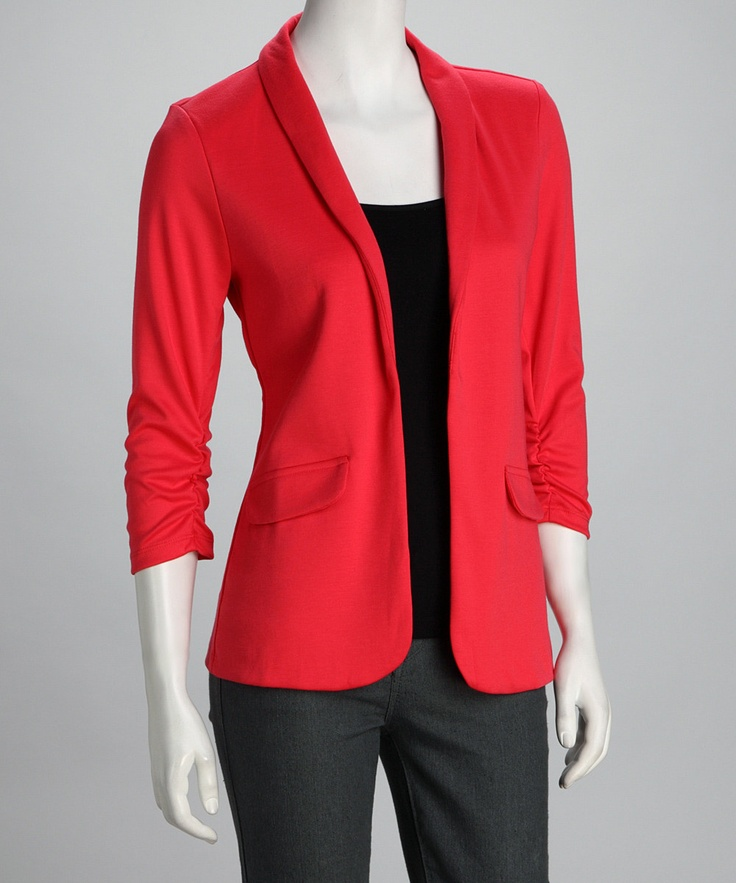 17 Best Images About Coral Blazers On Pinterest