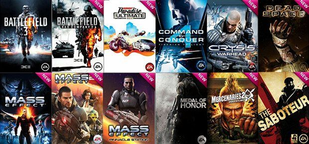 EA Gives Mistakenly Gives Away A Lot Of Free Games