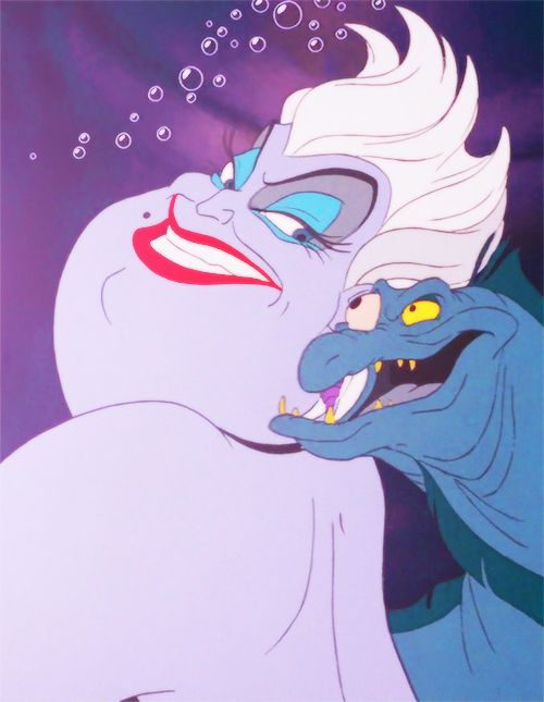 "~ † They weren't kidding when they called me, well, a Witch.† Disney""s Ursula ~"