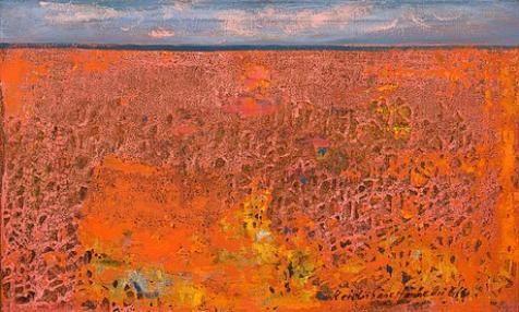 Reidar Särestöniemi, Blueberry in autumn colors