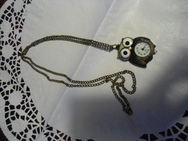 collana orologio in bronzo